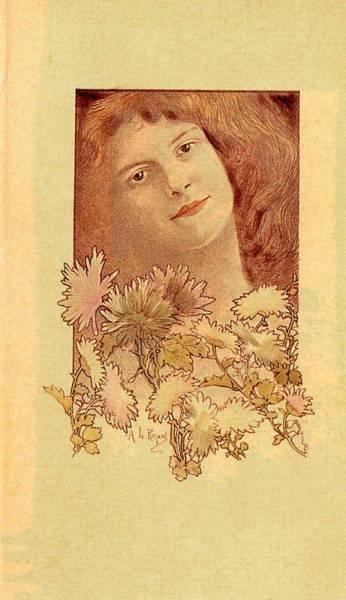 Испанский художник эпохи модерн Alexandre de Riquer (1856-1920) (56 работ)