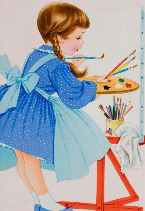 American illustrators (20th Century) часть 6 (80 работ)