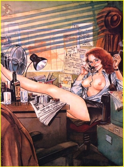 Pin-Up artworks by Rascan Horacio (71 работ)