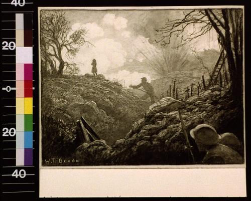Художник и иллюстратор эпохи модерн Wladyslaw Theodore Benda (1873 - 1948) (66 работ)