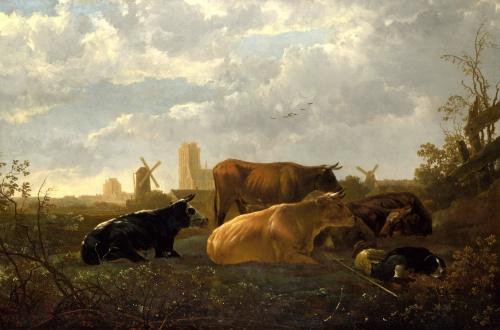 Европейские художники 12-19 веков ч.4 (63 работ) (2 часть)