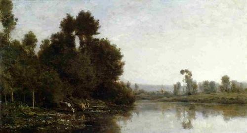 Шарль Франсуа Добиньи (32 работ)