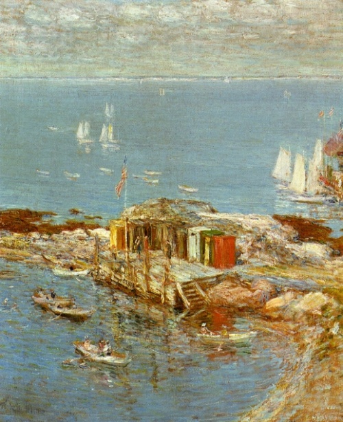 Frederick Childe Hassam (449 работ)