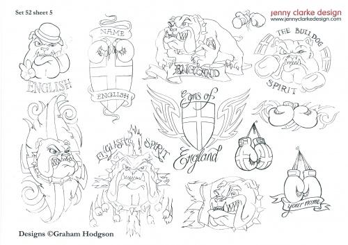 Tattoo Flash - Sheets + Lines set 14 (293 фото) (1 часть)