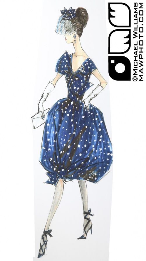 Barbie designer and fashion illustrator - Robert Best (150 работ)