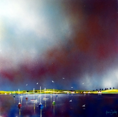 Коллекция работ английского художника Adam Barsby (32 работ)