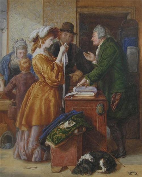 Английский художник Augustus Edwin Mulready (1844-1904) (38 работ)