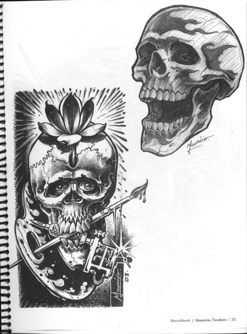 Tattoo Flash - Sheets + Lines set 13 (170 работ)
