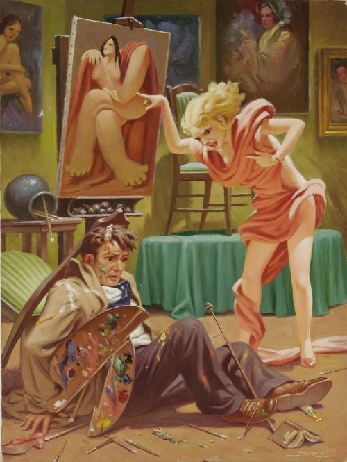 Художник-иллюстратор Raymond James Stuart (59 работ)