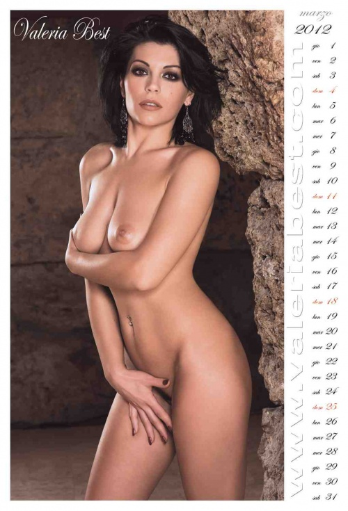 Valeria Best - Official Calendar 2012 (15 фото)