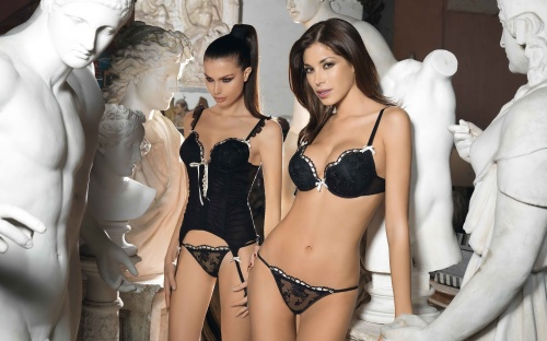 Collection of Lingerie (300 фото) (эротика) (3 часть)