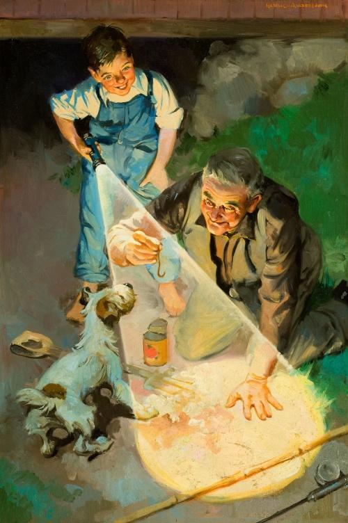 Американский художник - иллюстратор Harold Anderson (27 работ)