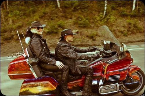 Байкеры и мотоциклы - фотографии (60 фото)