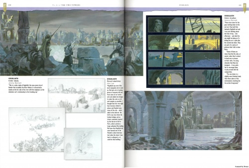 The Art of The Two Towers. Gary Russell Scetchbook (102 работ) (2 часть)