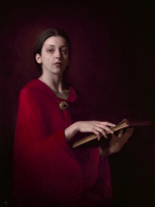 Женские портреты Adrian Gottlieb (62 работ)