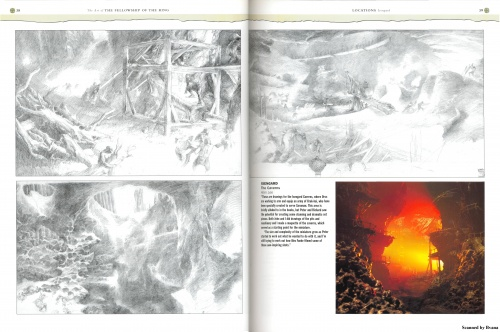 The Art of The Fellowship of The Ring. Gary Russell Scetchbook (102 работ) (1 часть)