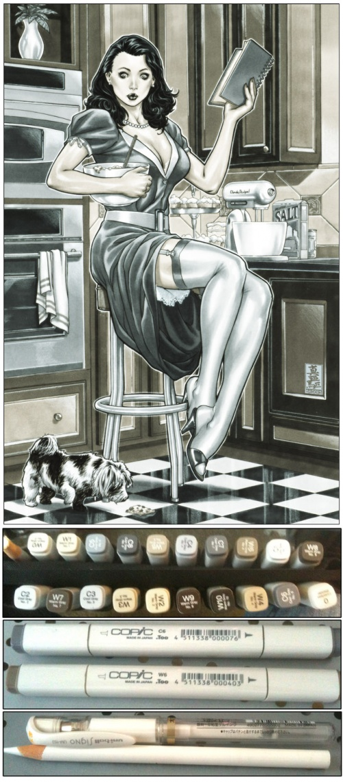 Mark Brooks Art (170 работ)
