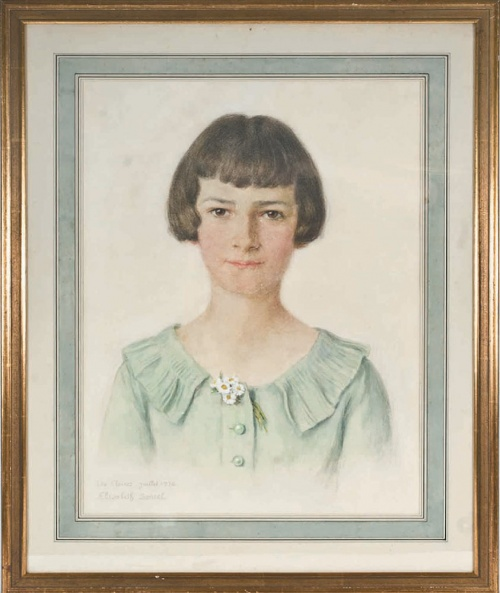 Французский художник Elisabeth Sonrel (1874 - 1953) (92 работ)