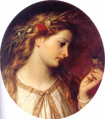 Английский живописец Thomas Francis Dicksee (1819—1895) (32 работ)