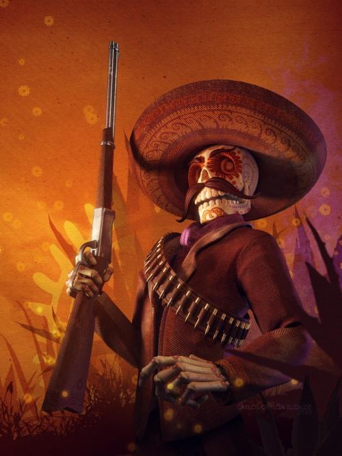 3D-художник Carlos Ortega Elizalde (75 работ)