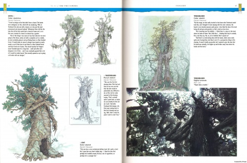 The Art of The Two Towers. Gary Russell Scetchbook (102 работ) (1 часть)