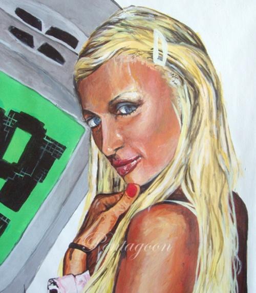Шведская художница Андрэ Фемерстранд (Andrea Femerstrand) псевдоним - Noukah (177 работ)