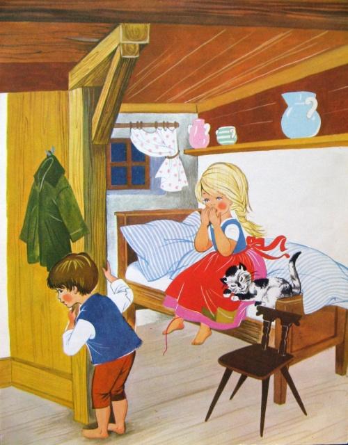 Illustrations of the German editions of fairy tales  Иллюстрации немецких изданий сказок (19 работ)