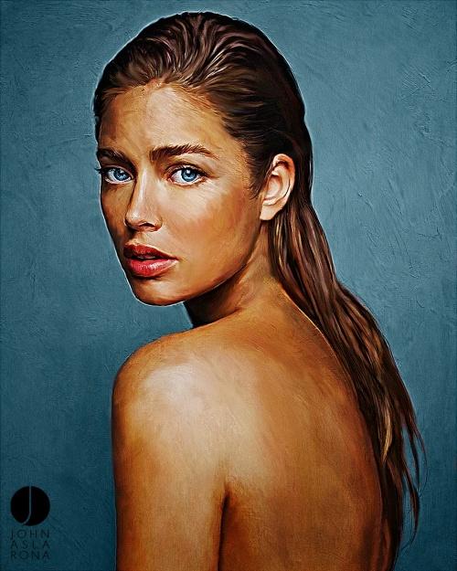 Коллекция работ американского художника John Aslarona (87 работ)
