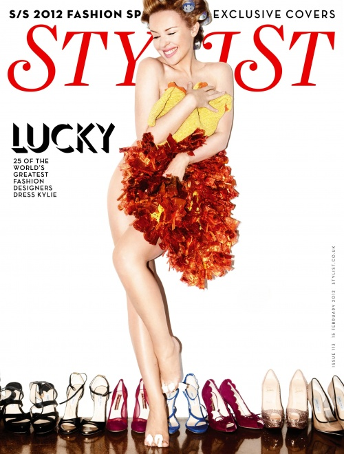 Kylie Minogue - Stylist Magazine February 2012 (27 фото)