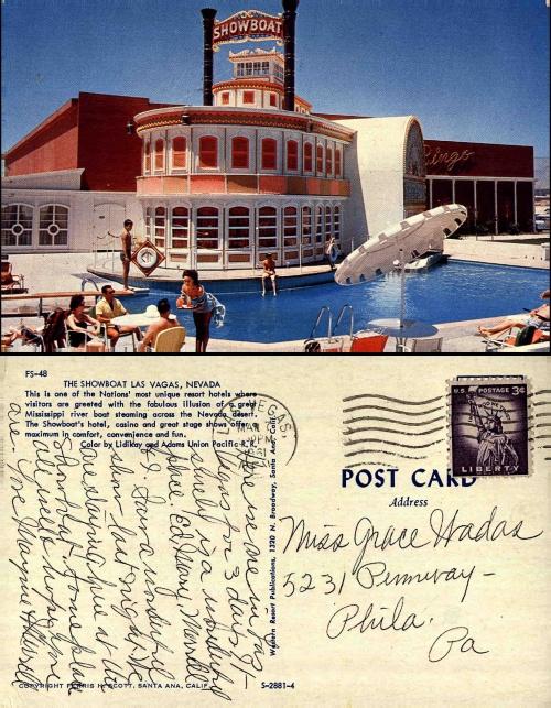 Старинные открытки из Лас Вегаса (40 открыток)