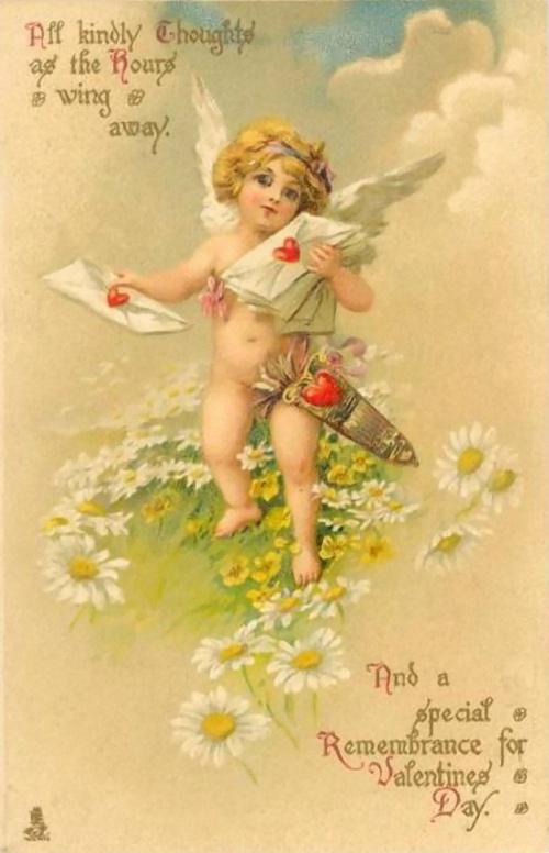 Valentine cards 1st half of XX century  Открытки-валентинки 1-ой половины ХХ века (120 открыток)