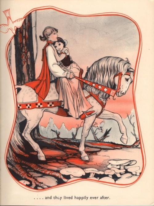 Snow White Songbook \ Иллюстрации. Белоснежка (14 работ)