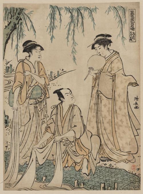 Torii Kiyonaga (1752-1815) (15 работ)
