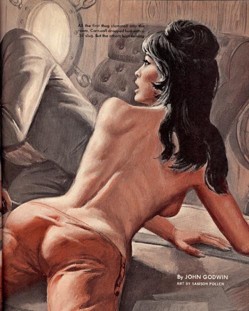 Художник-иллюстратор Samson Pollen (32 работ)