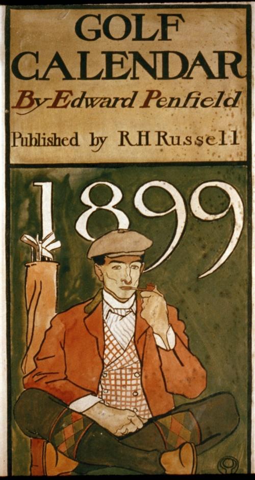 Edward Penfield (1866-1925) (60 работ)