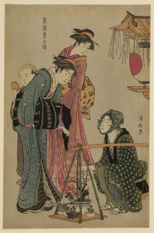 Torii Kiyonaga (1752-1815) (12 работ)