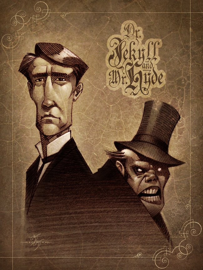 dracula vs dr jekyll and mr