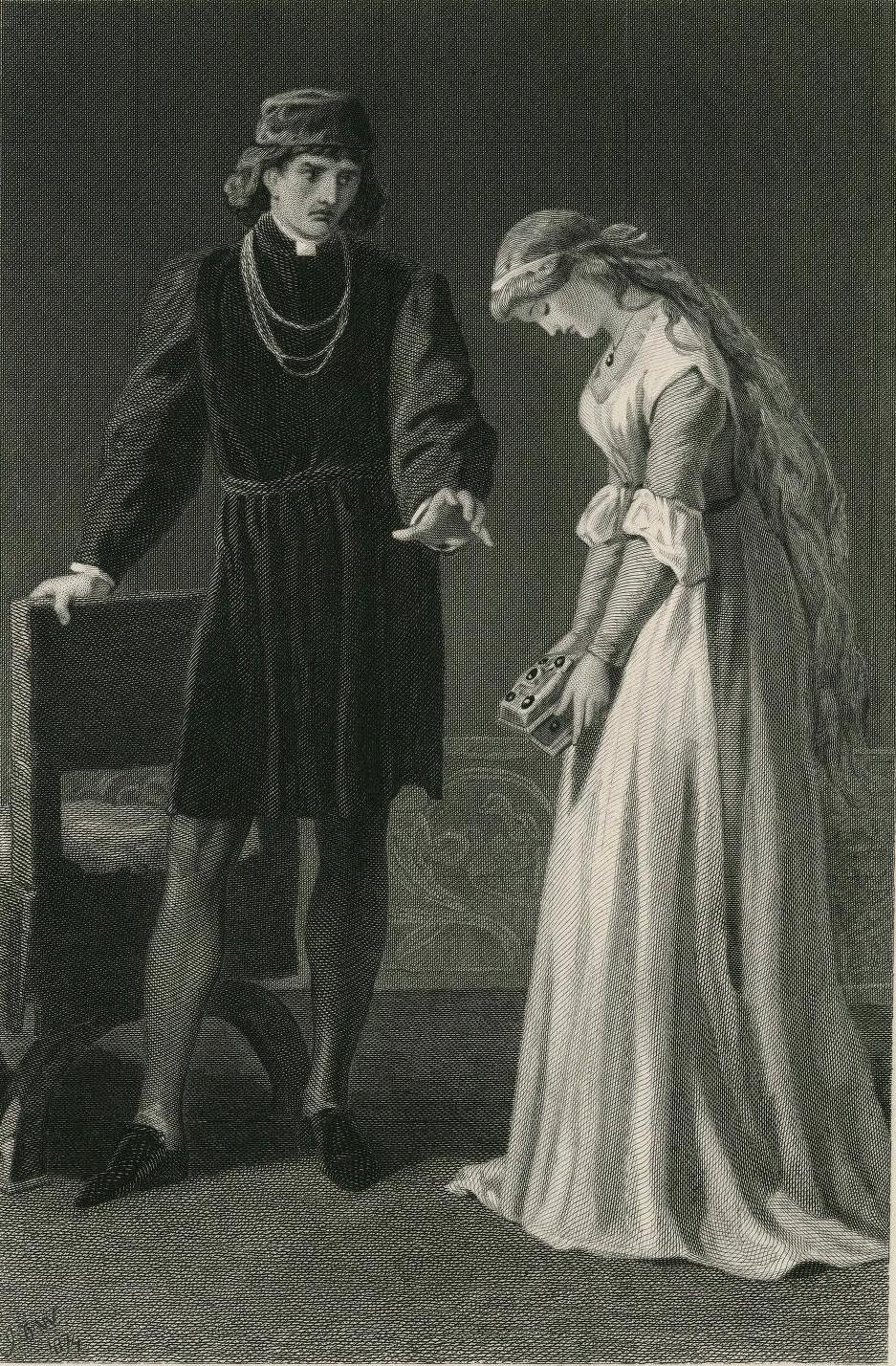 an analysis of the character ophelia in hamlet by william shakespeare The ghost: the spirit of hamlet's murdered father which is in a state of unrest due to perishing without the sacrament and extreme unction polonius: denmark's lord chamberlain, he is claudius' stooge, a busybody, and the father of laertes and ophelia.