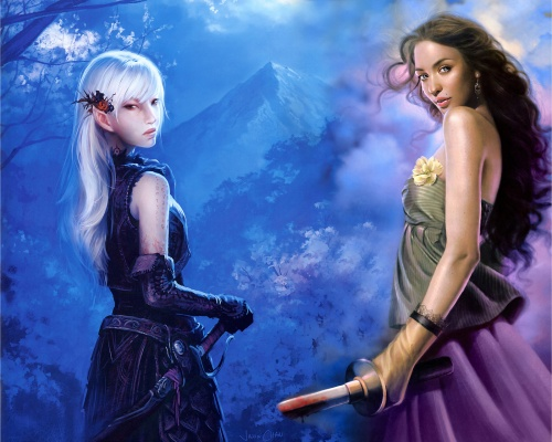 2000 Mind Blowing Fantasy Artworks (1000 работ) (1 часть)