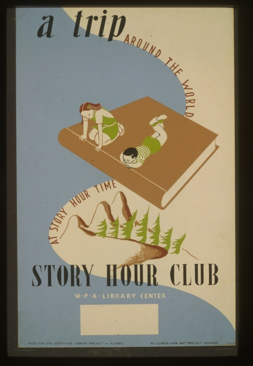 Posters from the WPA (USA 1936-1943) (100 работ) (2 часть)
