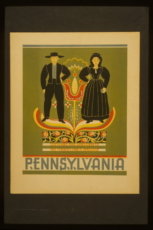 Posters from the WPA (USA 1936-1943) (100 работ) (4 часть)