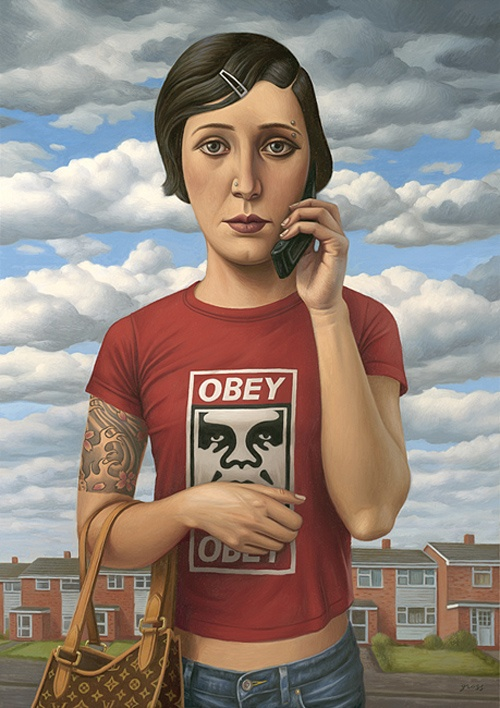 The Art of Alex Gross (111 работ)