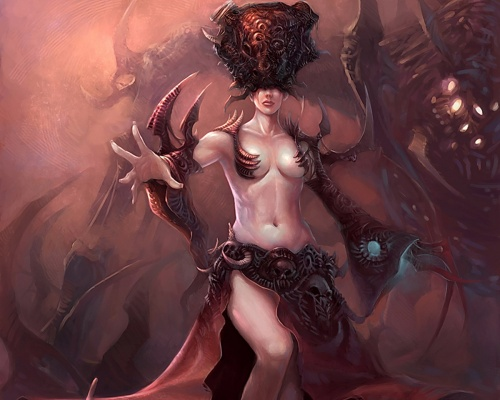 2000 Mind Blowing Fantasy Artworks (1000 работ) (2 часть)