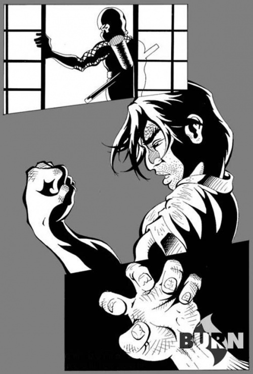 Burn Comics (34 работ)