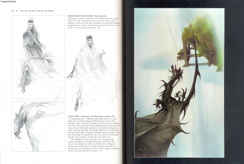 The Art of The Lord of the Rings. Gary Russell Scetchbook (63 работ) (1 часть)