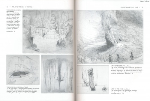 The Art of The Lord of the Rings. Gary Russell Scetchbook (63 фото) (1 часть)