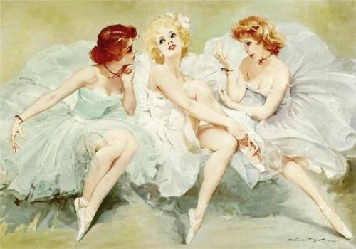 Балет в живописи (62 работ)