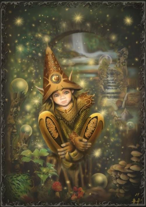 Волшебный мир от Мартины Аренд (Martina Arend) (62 работ)