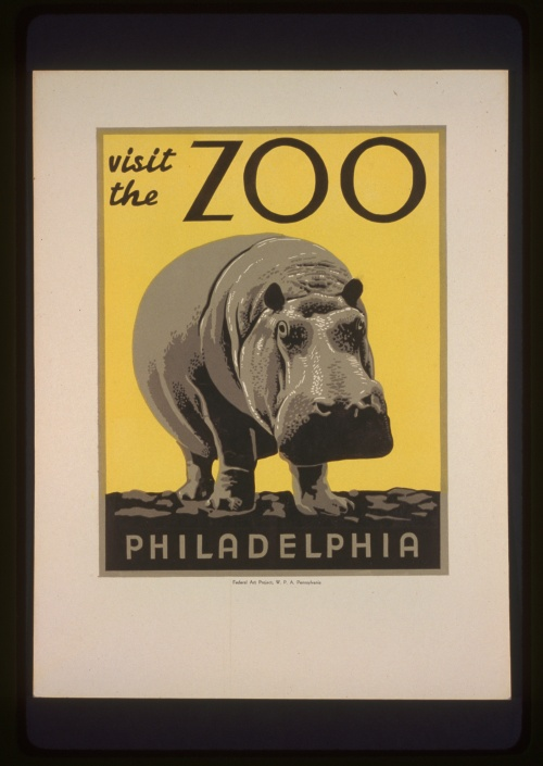 Posters from the WPA (USA 1936-1943) (100 работ) (1 часть)