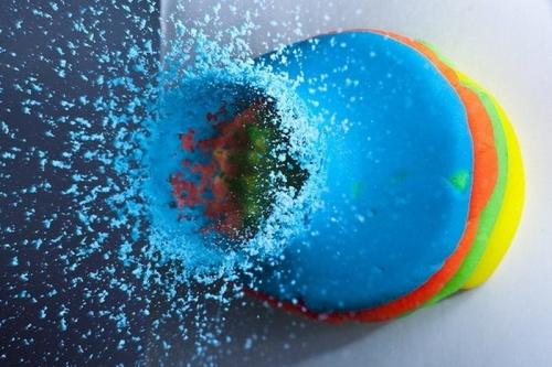 Фото предметов, через которые проходит пуля (19 фото)